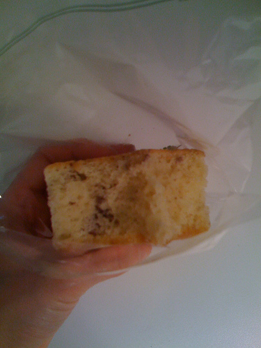 Walnut Flavor of Korean Castella Cake