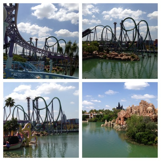 Islands of Adventure Hulk