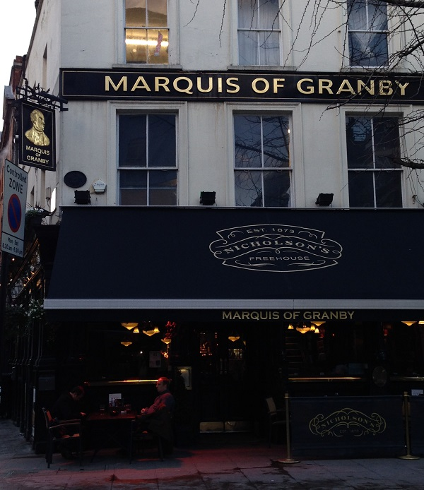 Marquis of Granby Pub London