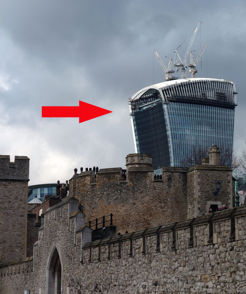 Guess the London Monument Game Walkie Talkie
