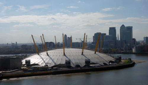 Emirates Cable Car London O2 Arena