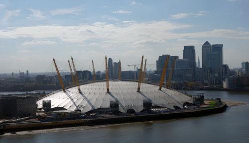 Emirates Cable Car London O2 Arena