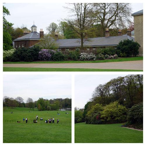Kenwood House Gardens and Spaniards Inn