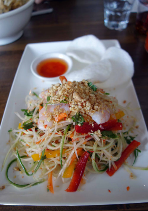 Pho Restaurant Salad goi du du