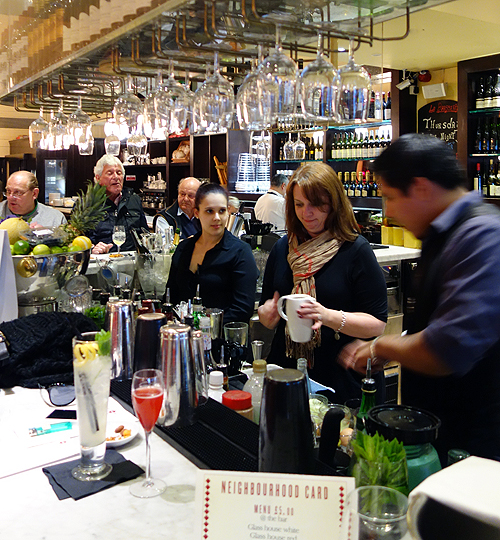 La Brasserie Cocktail Masterclass London