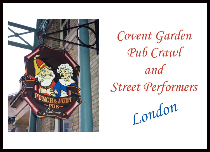 Covent Garden Pub Crawl