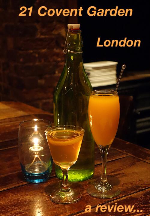 21 Covent Garden Restaurant Review