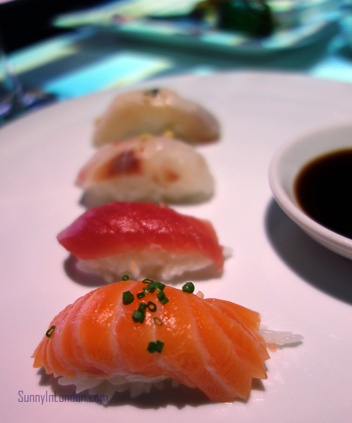 Inamo Restaurant London Nigiri Set