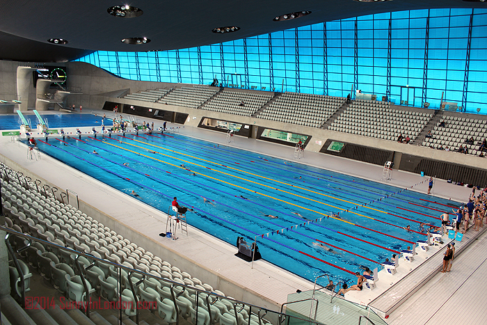 Stratford London Olympics Aquatic