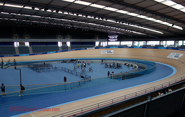Stratford London Olympics Lee Valley VeloPark