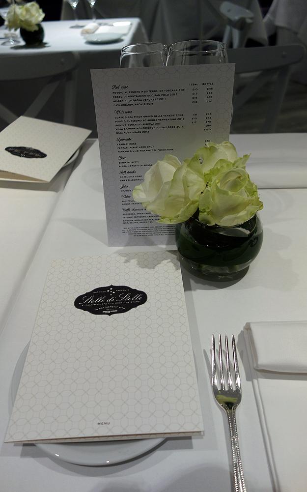 Harrods Restaurants Stelle di Stelle London