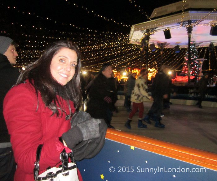 Things to Do in London at Christmas Hyde Park Winter Wonderland Ice Skating