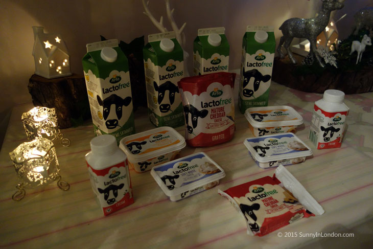 Lactose Free Christmas Recipes Bake-a-Book London West Hampstead Arla Lactofree Products