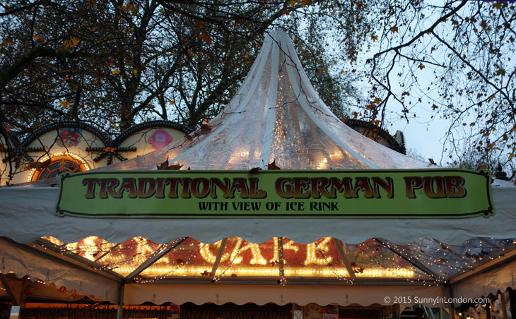 Advice for Visiting Winter Wonderland in Hyde Park London