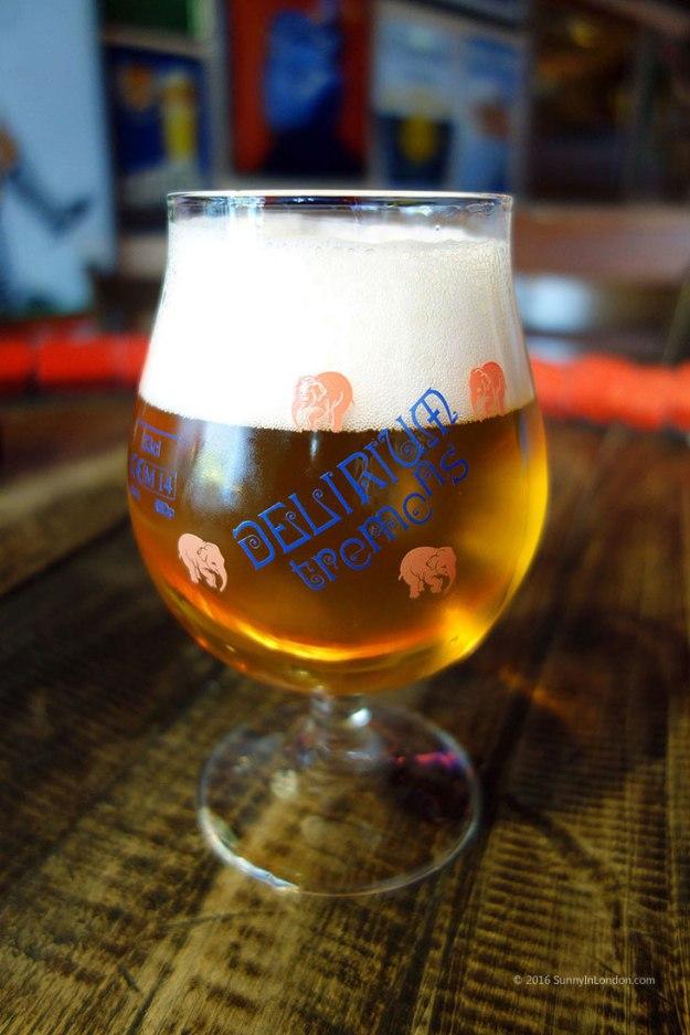 Delirium Tremens Belgian Beer vs American Beers