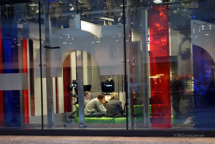 A Tour of the BBC Broadcasting House in London The One Show