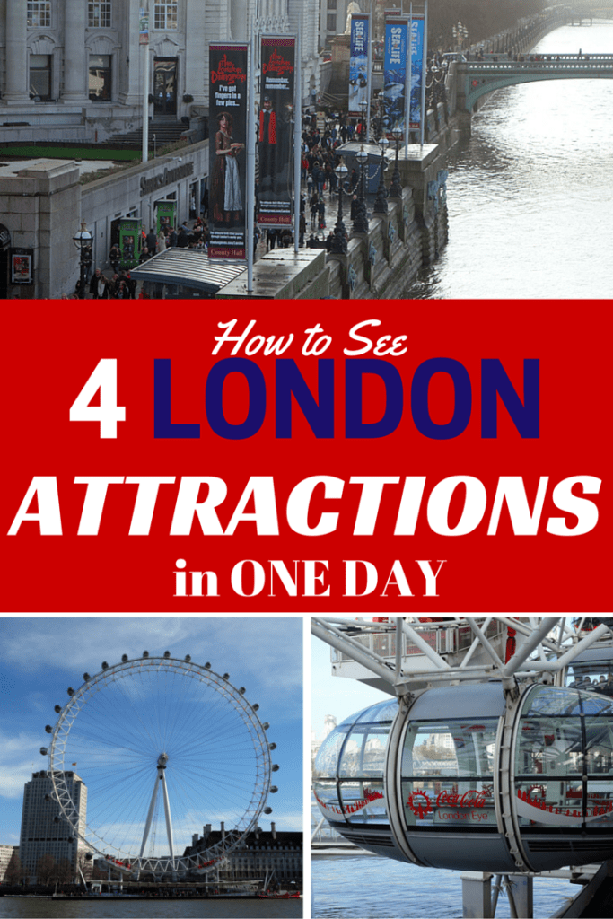 How to See 4 South Bank London Attractions in One Day