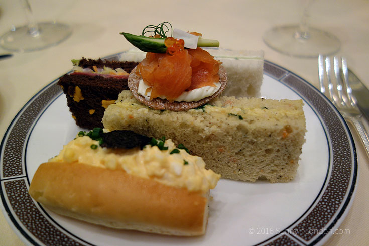 Langham Afternoon Tea Review in London with Chef Cherish Finden