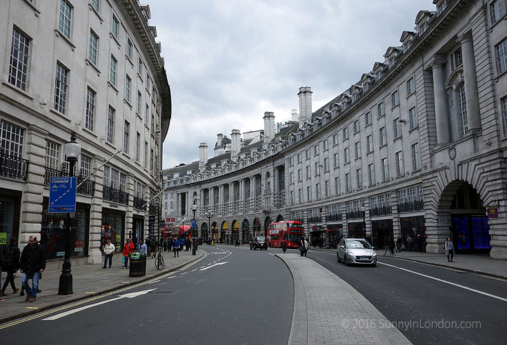 Best Places to Take a Selfie in London Regent Street