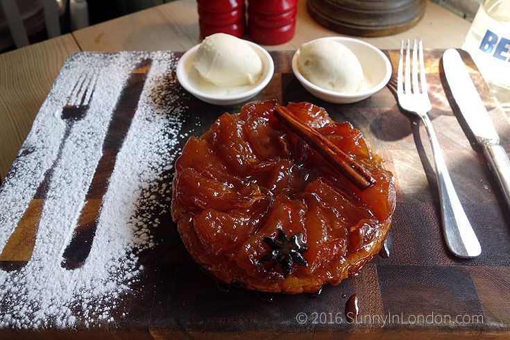 Bel and the Dragon Windsor Review- tart pudding
