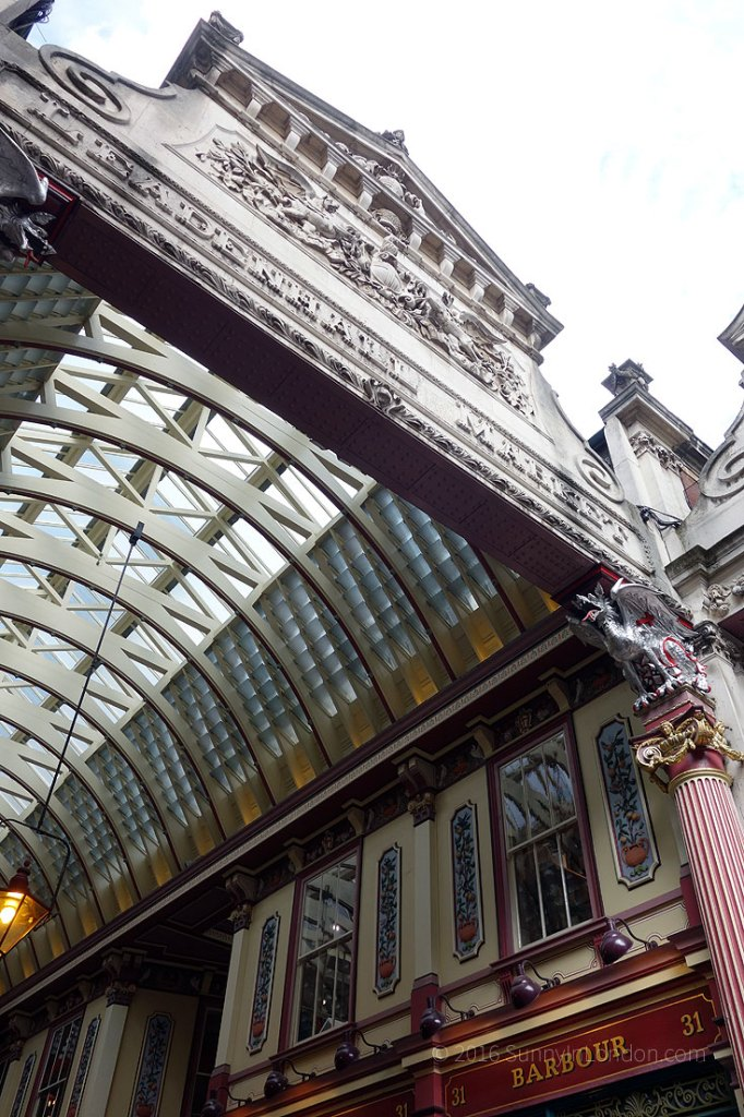 Harry Potter Bus Tour London Brit Movie Tours Guide Leadenhall Market