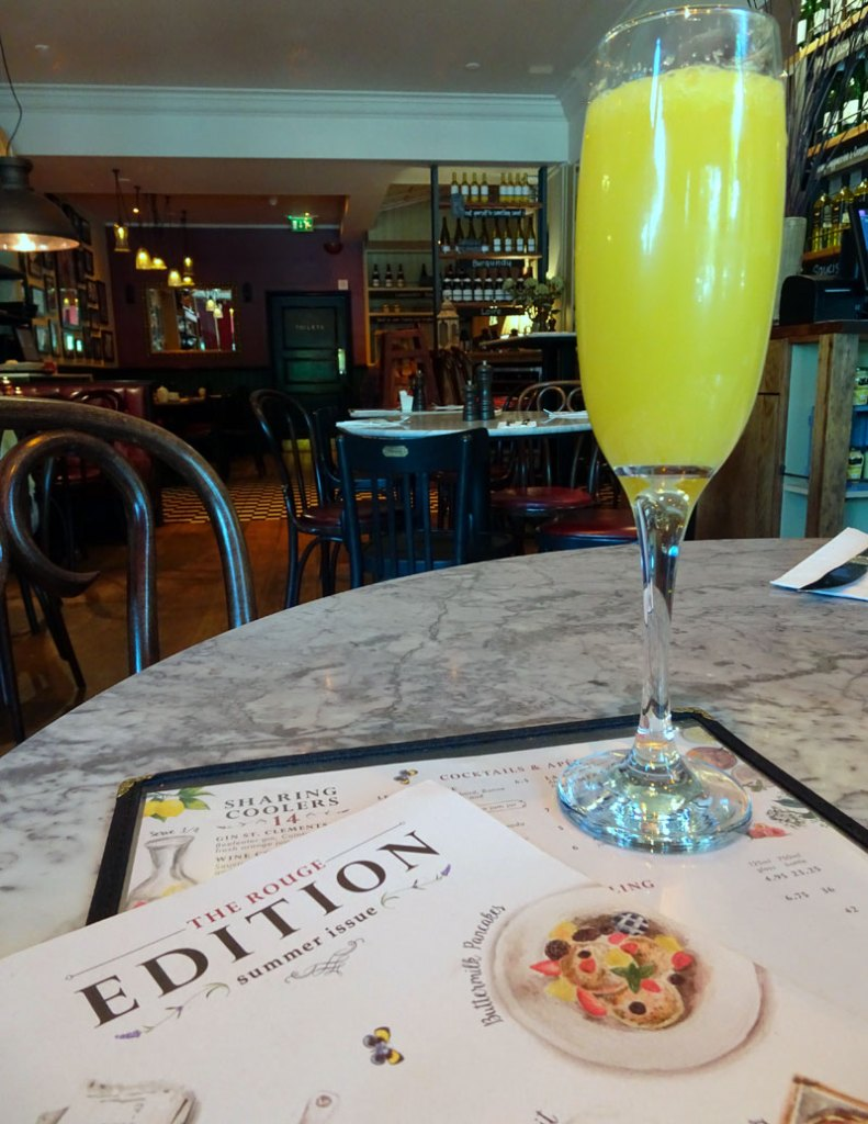 Cafe Rouge Southgate Breakfast Mimosas