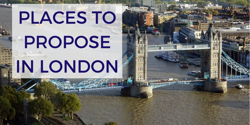 The Best Places to Propose in London