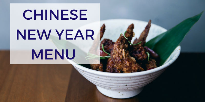 Chinese New Year Menu at Bo Drake London