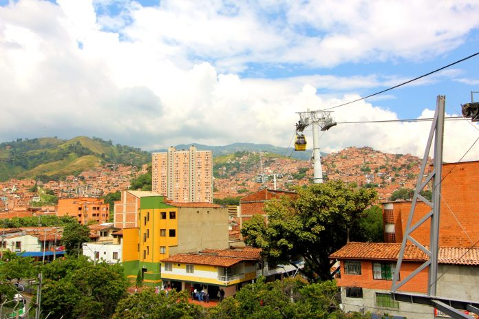 Comuna 13 Cable Car