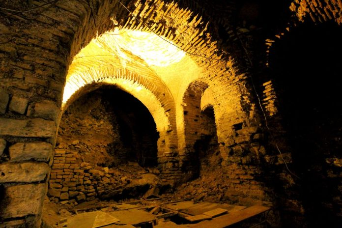 Palatium Istanbul restaurants underground excavation
