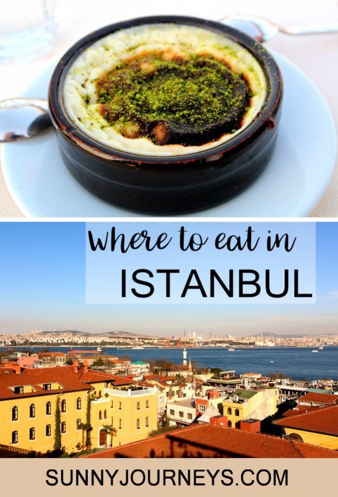 Restaurants Istanbul Pin