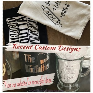Custom Designed Gifts