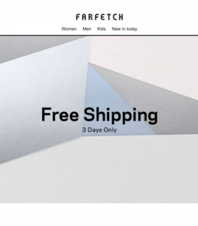 farfetch free shipping 2017