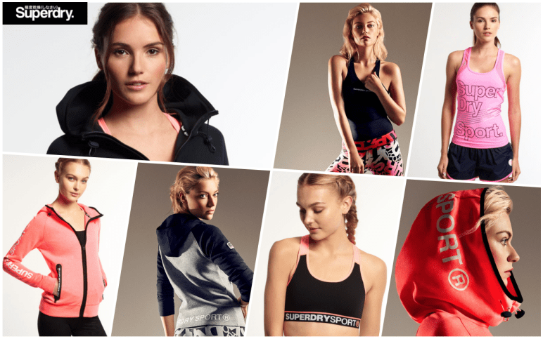 superdry sport gym fashion 1