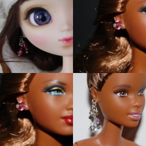 Custom, fashion Pullip, Barbie, blythe, littlefee / jewels, custom, fashion