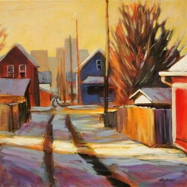 21 - HCA 2016 - Side Street - 20x20