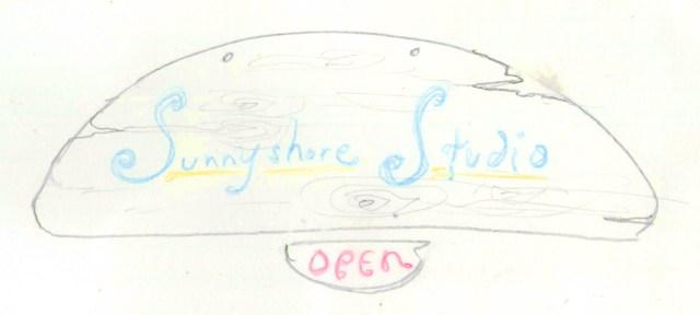 Jacob's sunny shore sketch