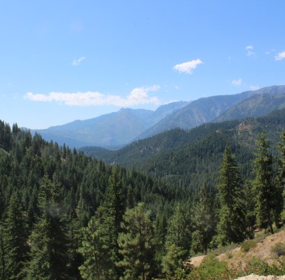 Our Hike on Grandpa Jack's Leavenworth Property