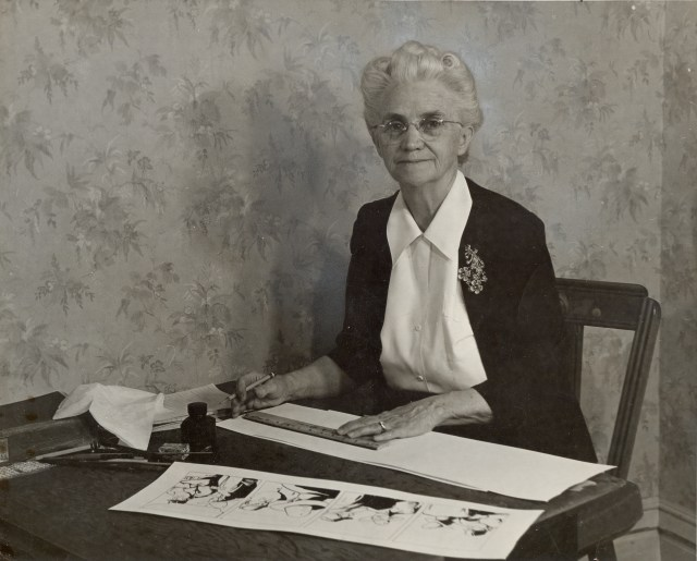 Fanny Y. Cory around 1950