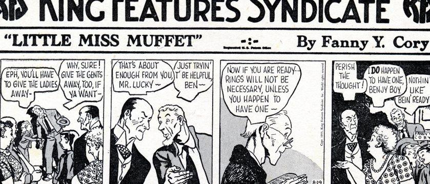 Little Miss Muffet, series 1, a