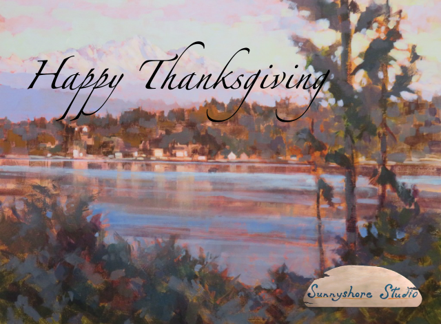 Happy Thanksgiving From Sunnyshore