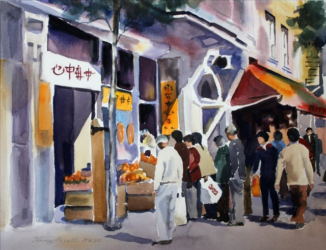 Morning Market-Nancy
