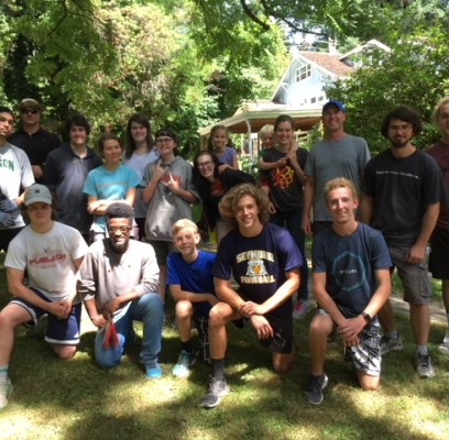 Second Annual Work Party at Jack and Ann Dorsey's Home on Saturday, July 13th.