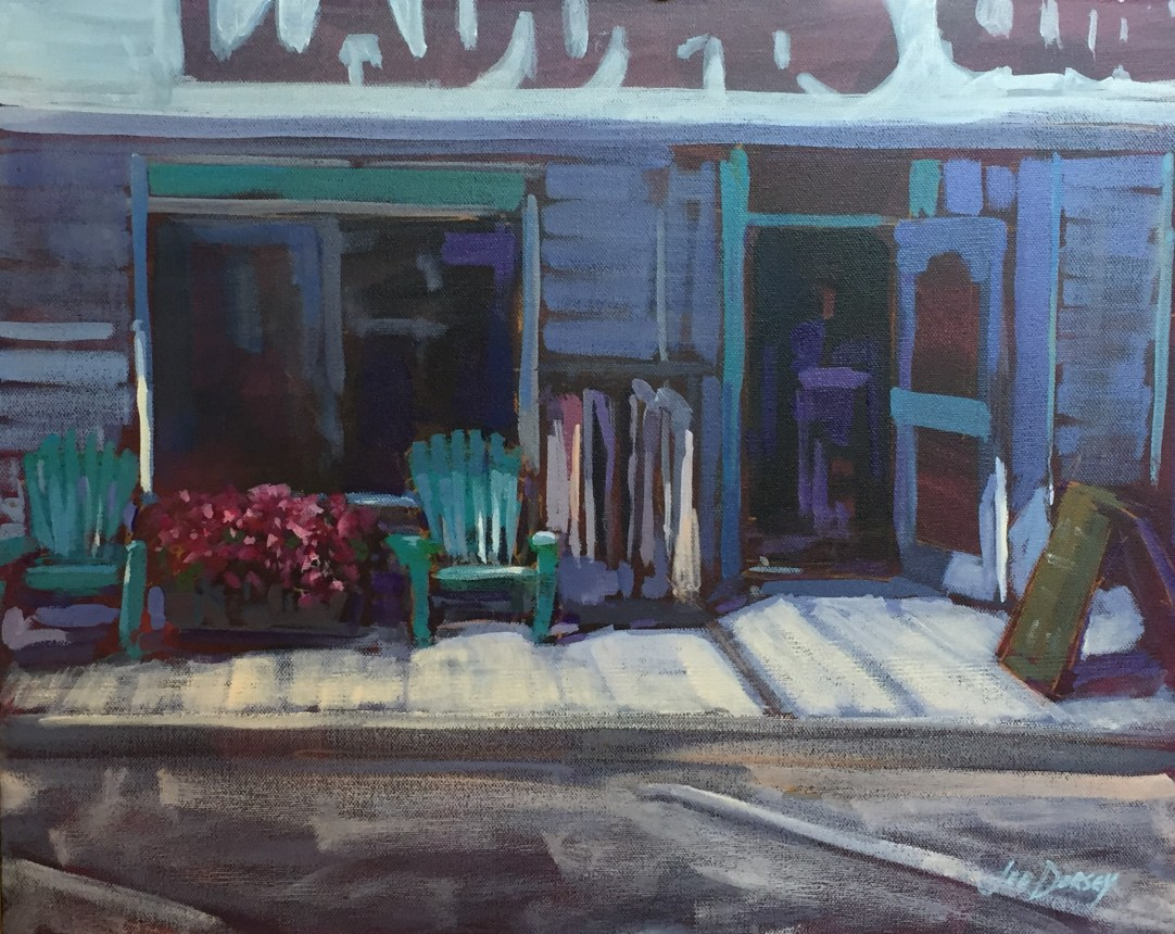 Small Town Charm - 20x16