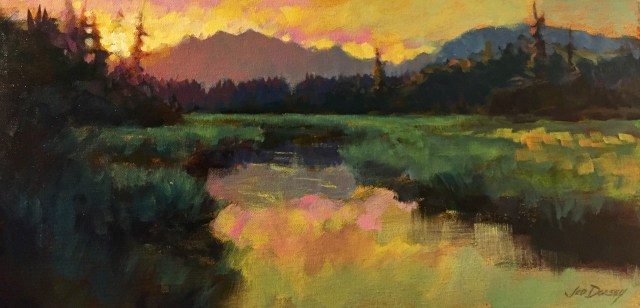 22 - The Way to Vermillion Lakes - 12x24