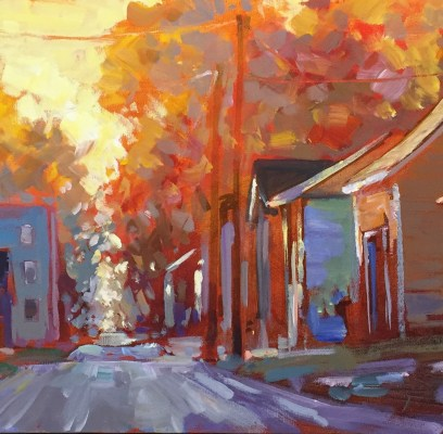 "Online Gallery – ""Home: Places of the Heart"" –  featuring new art by Jed Dorsey"