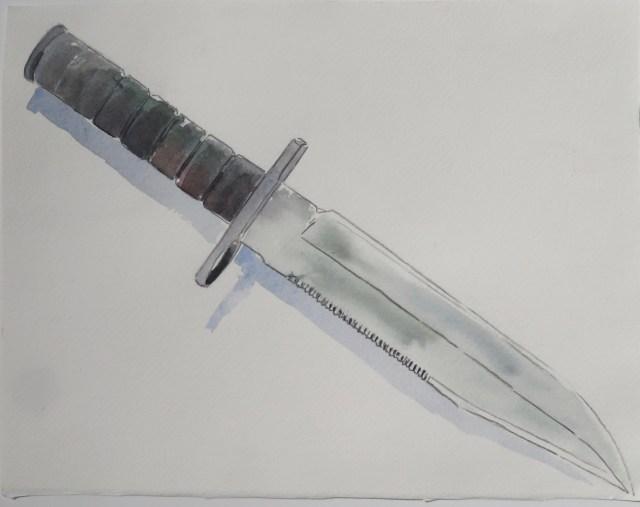 1. Dad's Bayonet
