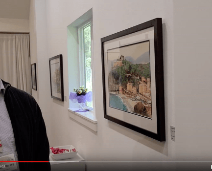 Virtual Tour of the 2020 Vintage Watercolorists of WA Show