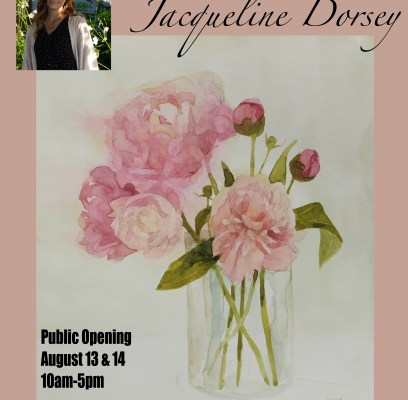 Week 5 Intern Journal: Painting and Prepping for Jackie's first Solo Art Show