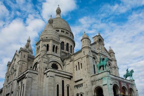 Wochenende in Paris: Die Sacre Coeur in Paris